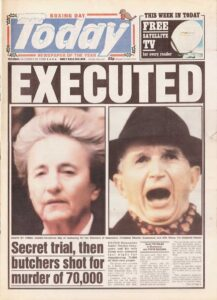 Ceausescu execution