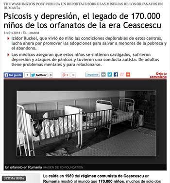 Psicosis y depresión, el legado de 170.000 niños de los orfanatos de la era Ceascescu