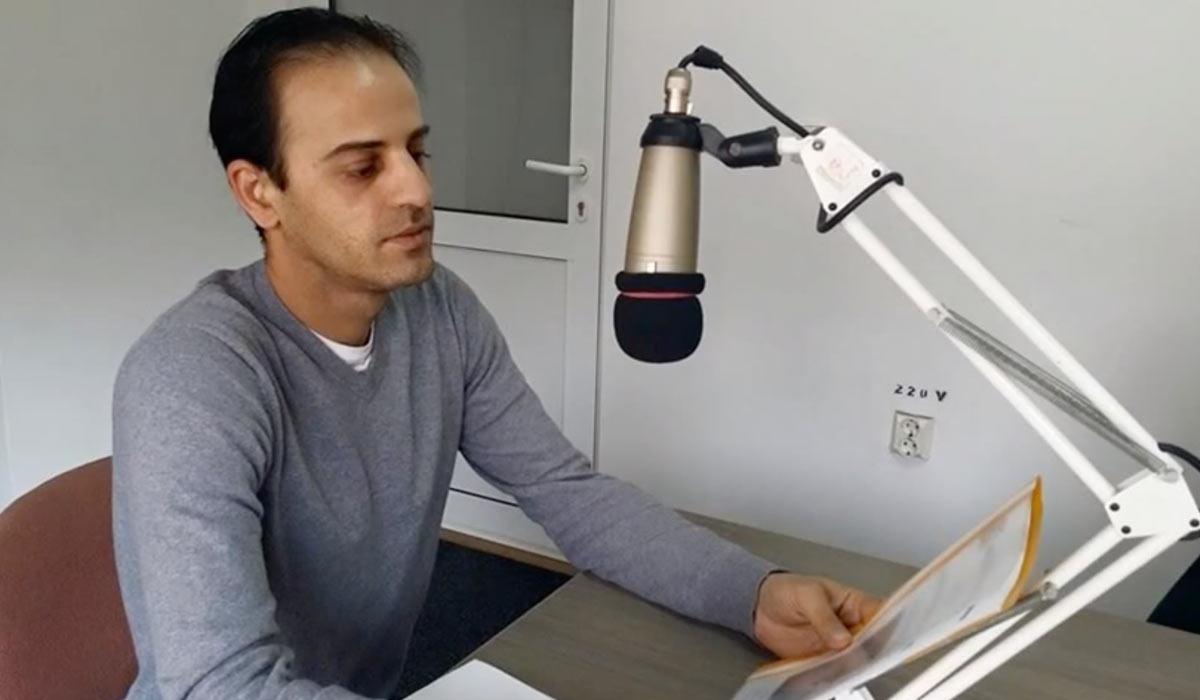 Izidor interviewed on Radio Transilvania
