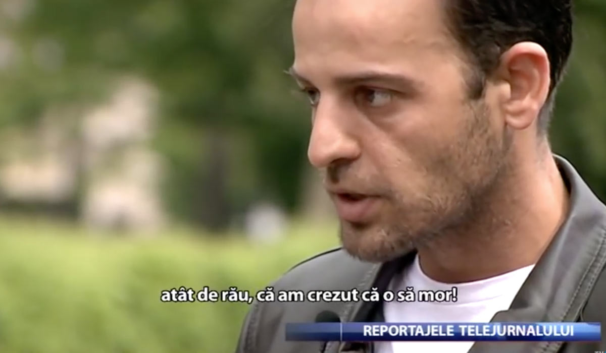 Izidor interviewed on TVR