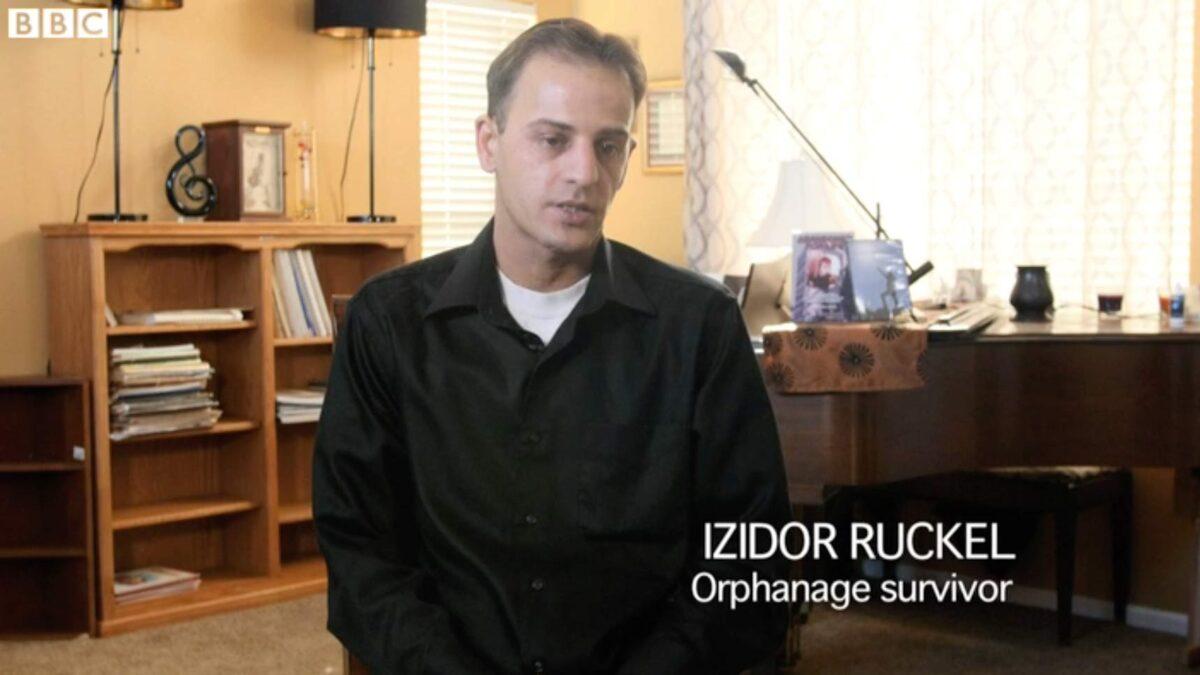 Izidor interviewed in BBC video