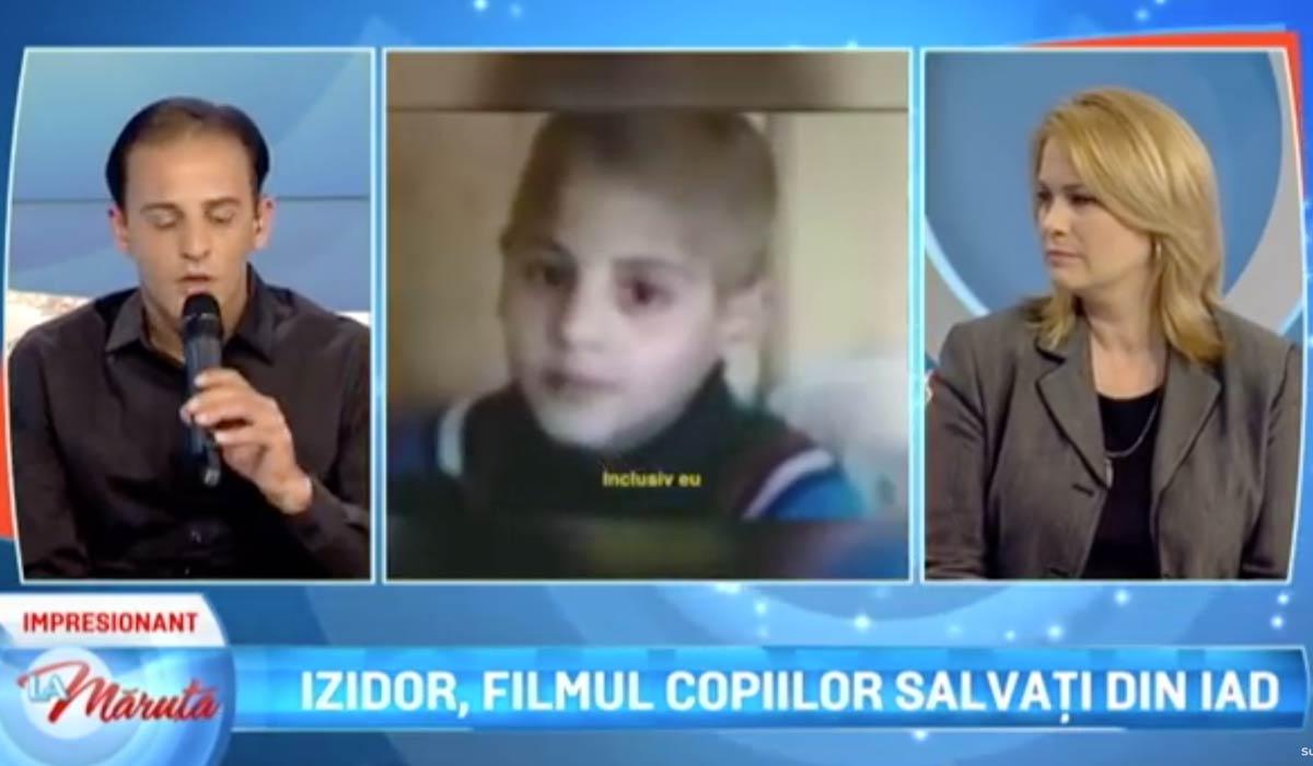 Izidor and Sarah on ProTV's La Maruta
