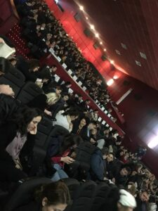 Romanian premiere of The Story of Us