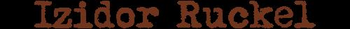 Izidor Ruckel logo