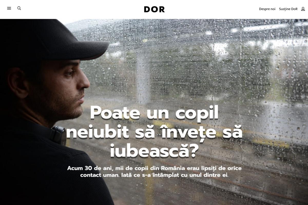 Izidor article in Romanian