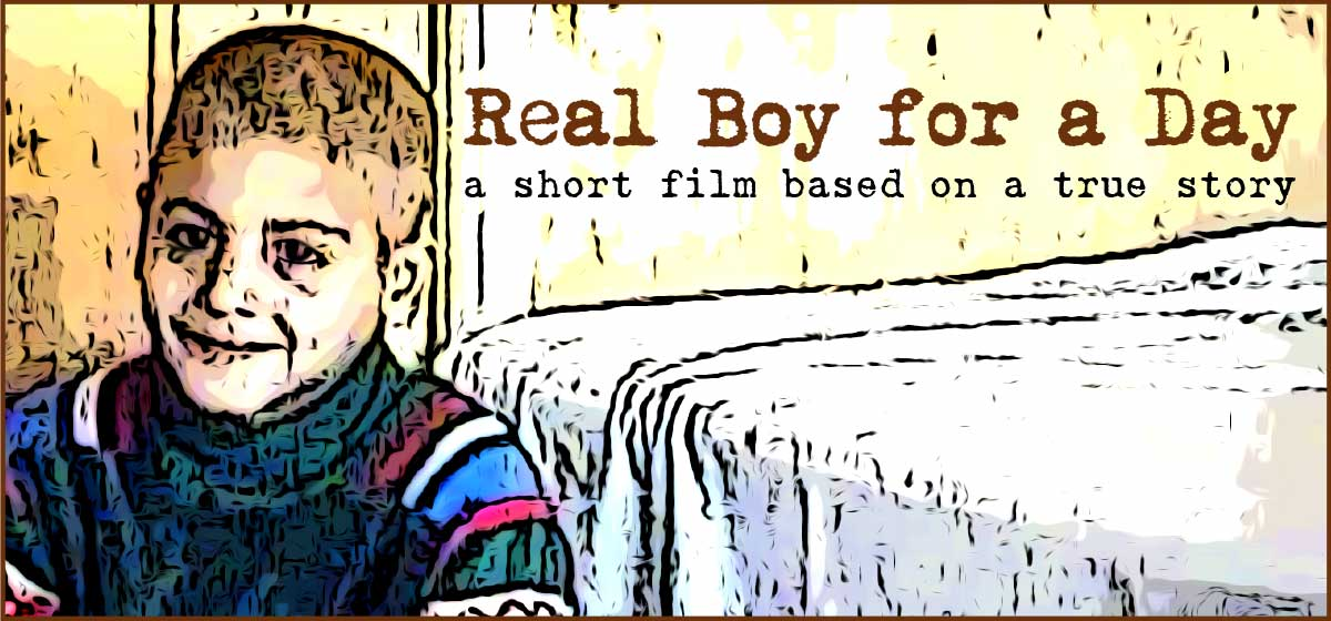 Real Boy for a Day logo