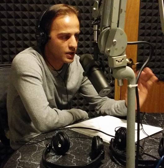 Izidor on radio KFKA